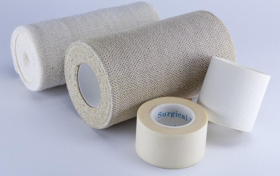 Mit Textilumreifungsband kann man sicher verpacken