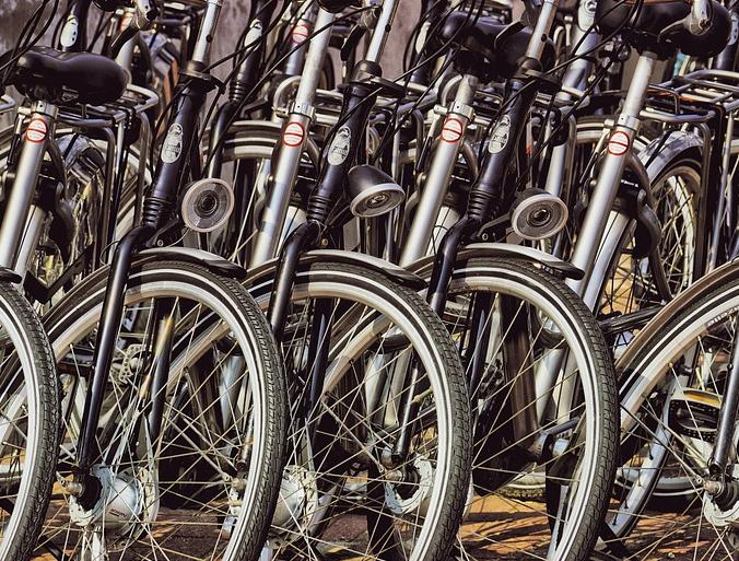 Fahrradständer Reihenanlage